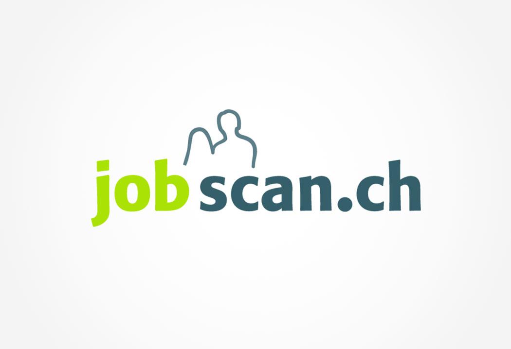 Logodesign Grafikfreelancer – Gestaltung und Konzept Logo für Jobscan.
