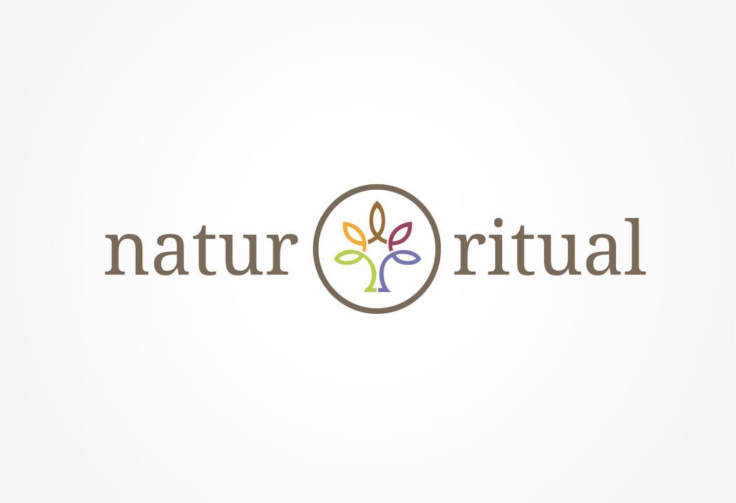 Gestaltung und Erstellung Logo für Natur & Ritual.