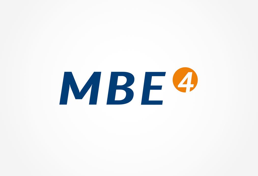 Logodesign Grafikfreelancer – Gestaltung und Erstellung Firmenlogo für MBE4.